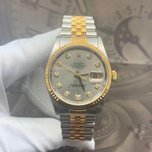 Rolex 劳力士老款日志型16233机械表