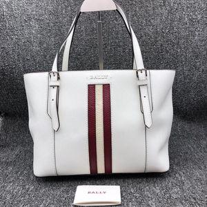 BALLY 巴利女士白色手提包