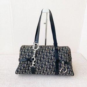 Dior 迪奥老花D扣手提包