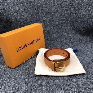 Louis Vuitton 路易·威登全皮腰带