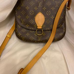 Louis Vuitton 路易·威登大号老花马蹄包
