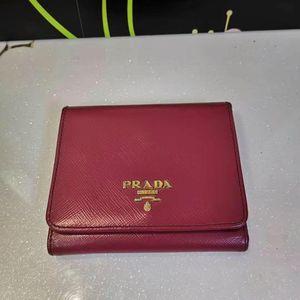 PRADA 普拉达女士短款钱包