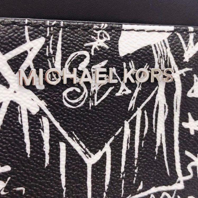 Michael kors 迈克.科尔斯限量涂鸦两用手拿腰包