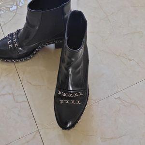 CHANEL 香奈儿链条靴