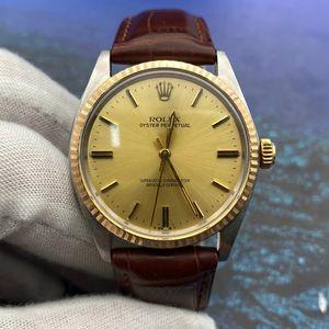 Rolex 劳力士1002收藏款18k金圈男士腕表