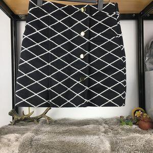 Louis Vuitton 路易·威登经典格纹半身裙