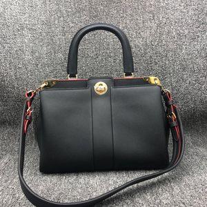 Louis Vuitton 路易·威登女士黑色全皮手提单肩斜挎包