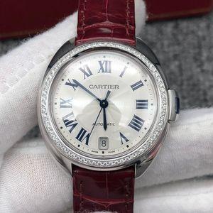 Cartier 卡地亚后镶钻钥匙女士腕表