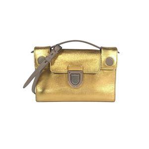 Dior 迪奥diorever金色手提单肩斜挎包