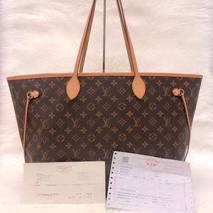 Louis Vuitton 经典老花大号NF购物袋单肩包