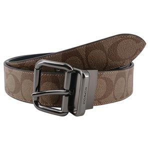COACH 蔻驰男士窄款针扣腰带皮带