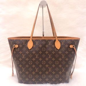 Louis Vuitton 经典老花中号17年NF购物袋