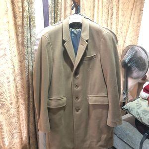 Burberry 博柏利男士羊毛羊绒大衣