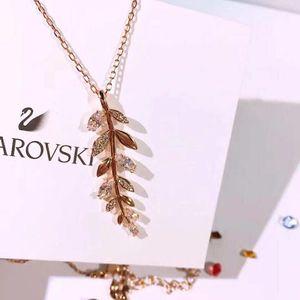 SWAROVSKI 施华洛世奇 玫瑰金色5409340项链吊坠