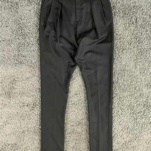 GIVENCHY 纪梵希秋季新款竖条纹商务绅士男裤休闲裤西裤