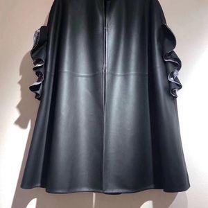Louis Vuitton路易·威登女士皮斗篷