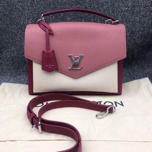 Louis Vuitton 路易·威登拼色手提单肩斜背包