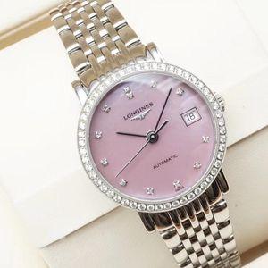 LONGINES 浪琴博雅系列L4.309.0.89.6女士机械腕表