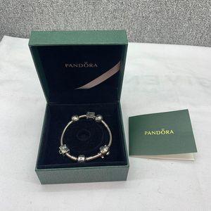 PANDORA 潘多拉五珠手链