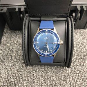 Blancpain 宝珀5000-0240-O52A五十噚系列自动机械男士腕表