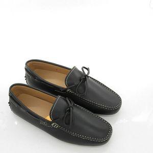TOD'S 托德斯男士真皮豆豆休闲鞋