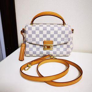 Louis Vuitton 路易·威登CROISETTE棋盘格手提包