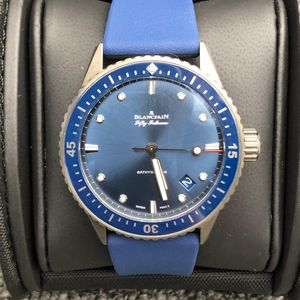 Blancpain 宝珀5000-0240-O52A五十噚系列自动机械腕表