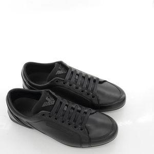 Emporio Armani EA 阿玛尼男士真皮休闲鞋