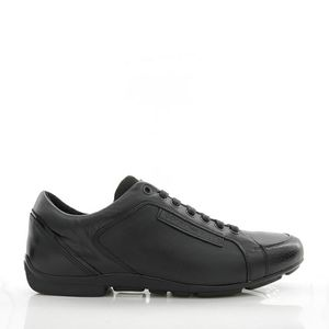 Emporio Armani 阿玛尼男士真皮休闲鞋低帮鞋