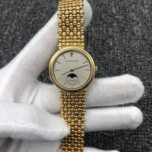 Audemars Piguet 爱彼18K黄金女士自动机械腕表