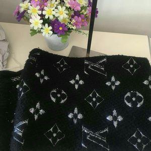 Louis Vuitton 路易·威登经典银线围巾