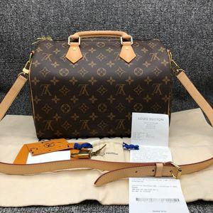Louis Vuitton 路易·威登speedy30单肩手提包