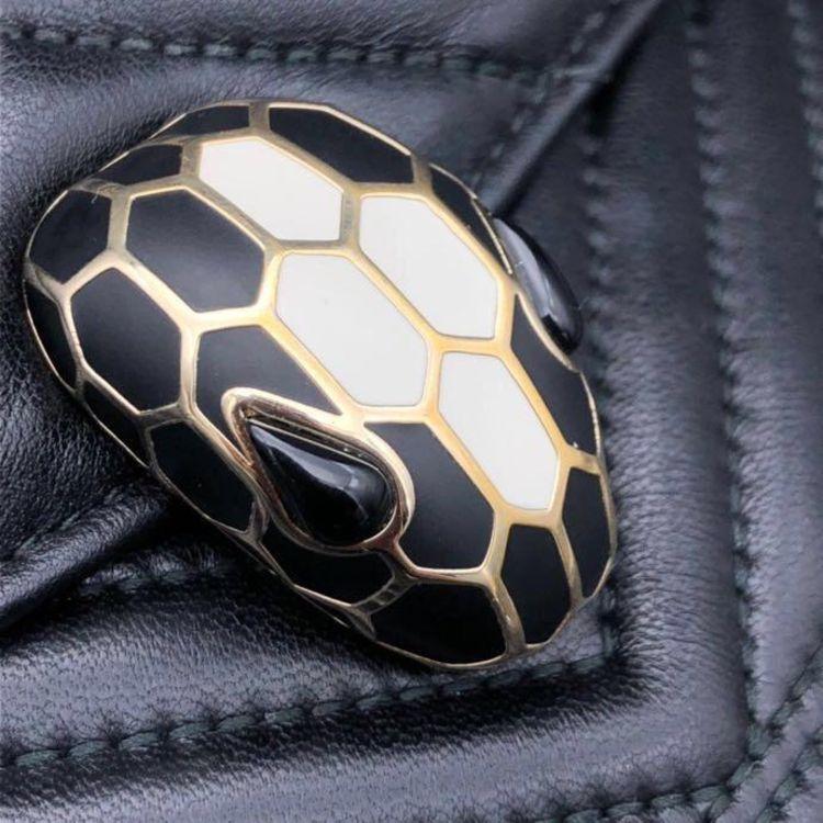 BVLGARI 宝格丽蛇头单肩包