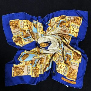 Dior 迪奥日月星辰神话系列蓝金真丝大方巾