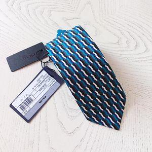 PRADA 普拉达桑蚕丝领带