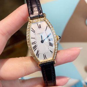 Cartier 卡地亚女士后镶钻手动机械腕表