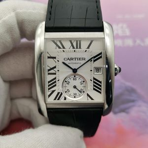 Cartier 卡地亚男士机械表
