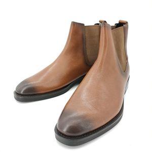 COACH 蔻驰棕色短靴子