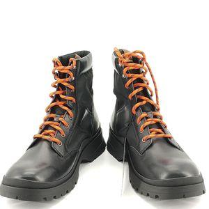 COACH 蔻驰黑色皮质靴子