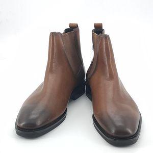 COACH 蔻驰渐变棕色靴子