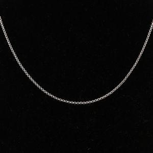 萧邦18K白金项链重量:8.6g 长度:41.5cm