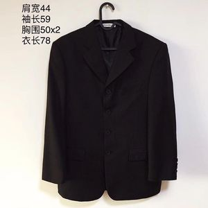 Yves Saint Laurent 伊夫·圣罗兰羊毛男士商务休闲西服