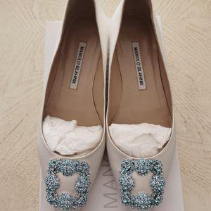 Manolo Blahnik马诺洛女士平底鞋