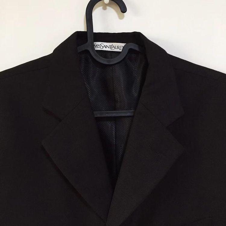 Yves Saint Laurent 伊夫·圣罗兰 羊毛男士商务休闲西服