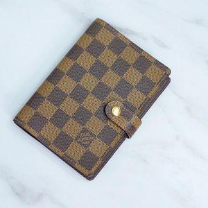 Louis Vuitton 路易·威登棋盘格手账簿