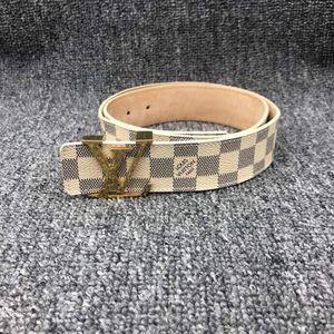 Louis Vuitton 路易·威登女士棋盘格腰带