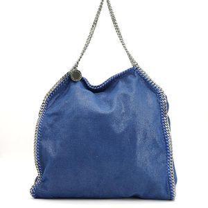 Stella McCartney 蓝色链条母子手提包