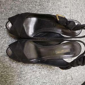 Louis Vuitton 路易·威登高跟鱼嘴凉鞋