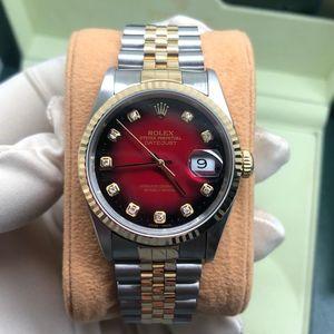 Rolex 劳力士日志型16233渐变红男士自动机械腕表