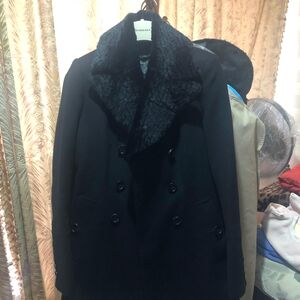 Burberry 博柏利女款高端秀款羊毛大衣